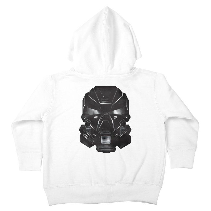 Black Metal Future Fighter Kids Toddler Zip-Up Hoody by chevsy's Artist Shop