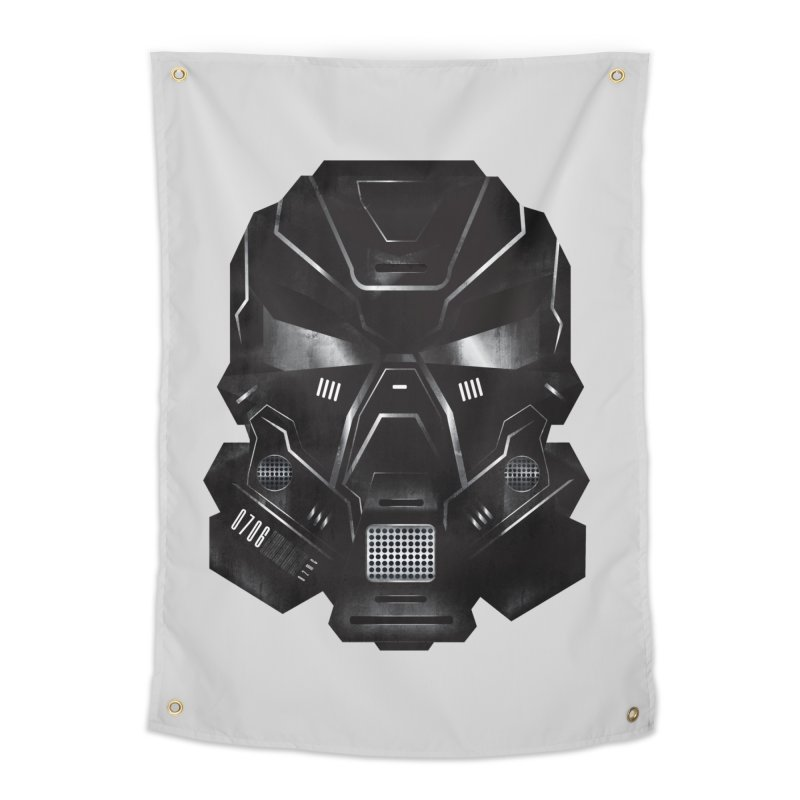 Black Metal Future Fighter Home Tapestry by chevsy's Artist Shop