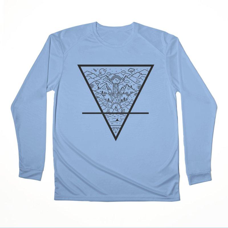 Terra Men's Longsleeve T-Shirt by chevsy's Artist Shop