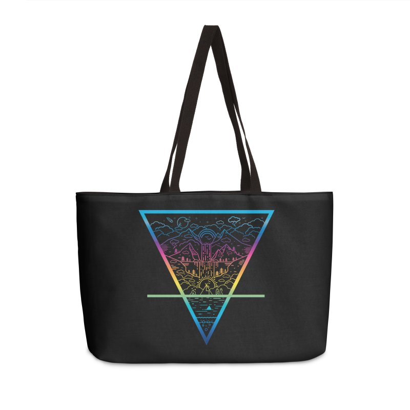 Terra-bly beautiful day Accessories Bag by chevsy's Artist Shop