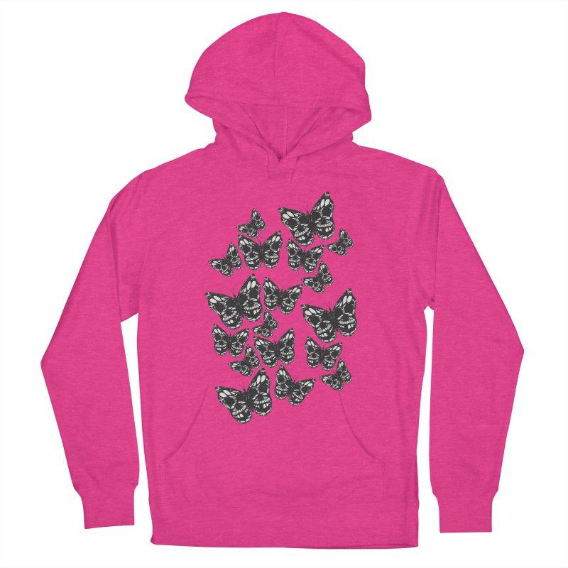 Butterflies of Death Men's Pullover Hoody by chevsy's Artist Shop