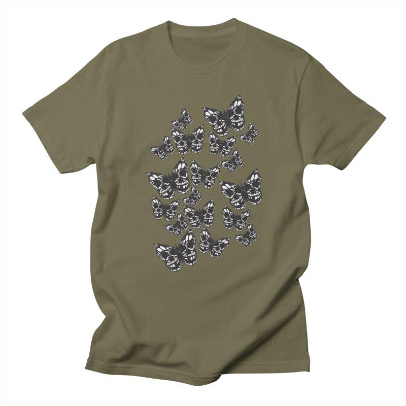 Butterflies of Death Men's Regular T-Shirt by chevsy's Artist Shop
