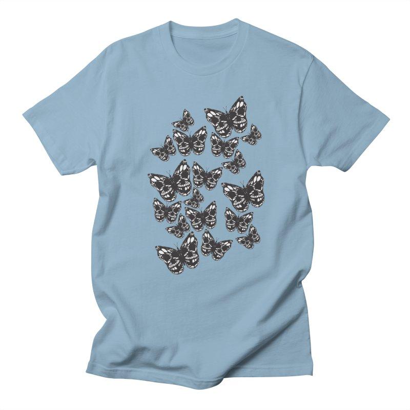 Butterflies of Death Men's T-Shirt by chevsy's Artist Shop