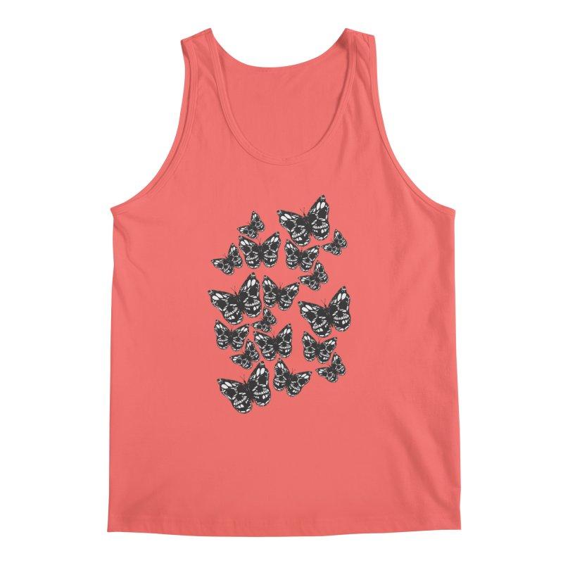 Butterflies of Death Men's Tank by chevsy's Artist Shop
