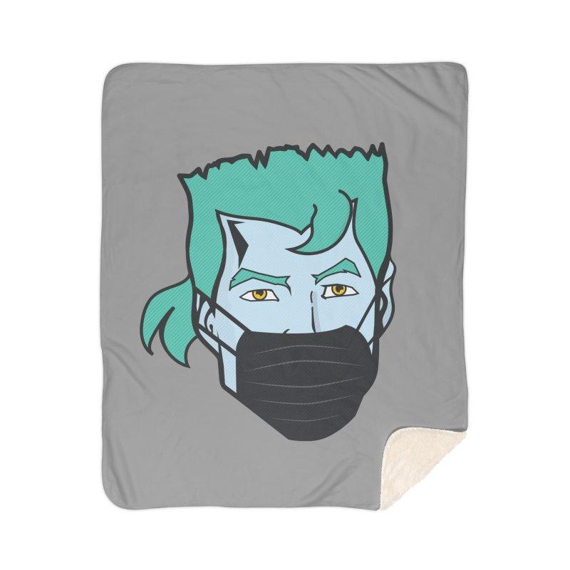 Captain Anti COVID-19 Home Blanket by chevsy's Artist Shop