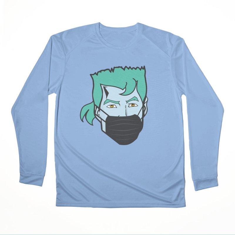 Captain Anti COVID-19 Men's Longsleeve T-Shirt by chevsy's Artist Shop