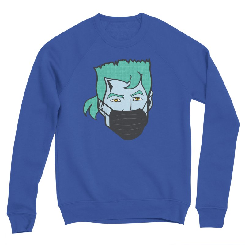 Captain Anti COVID-19 Men's Sweatshirt by chevsy's Artist Shop