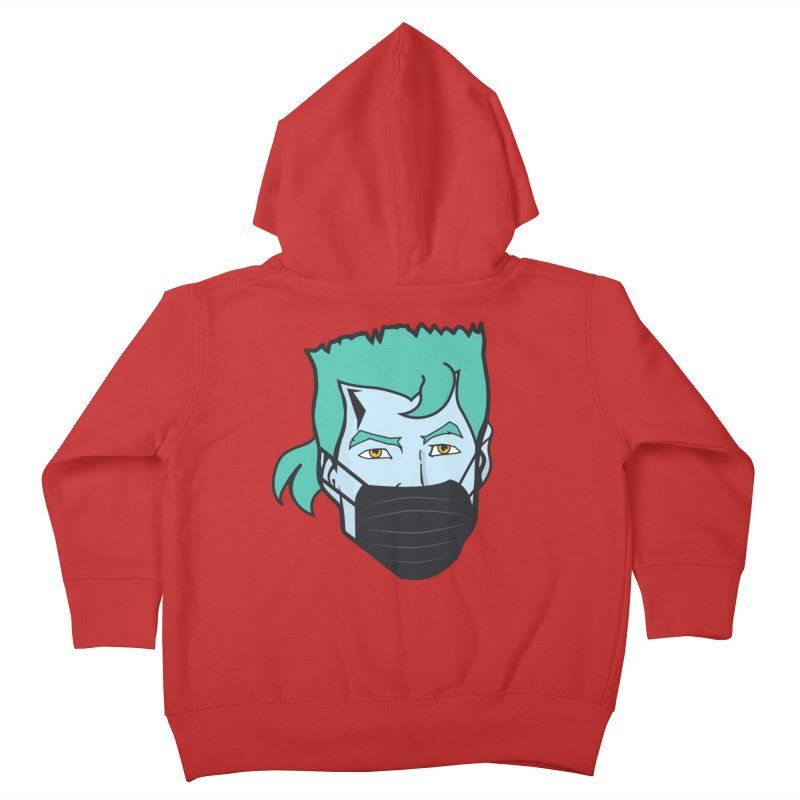 Captain Anti COVID-19 Kids Toddler Zip-Up Hoody by chevsy's Artist Shop