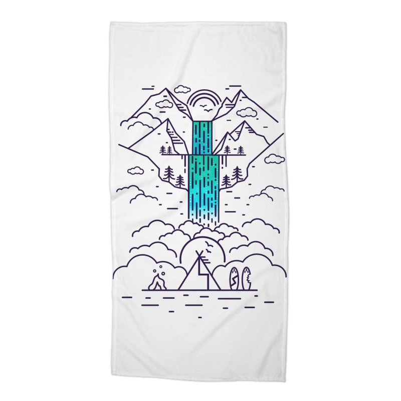 Nature's Daydream Accessories Beach Towel by chevsy's Artist Shop