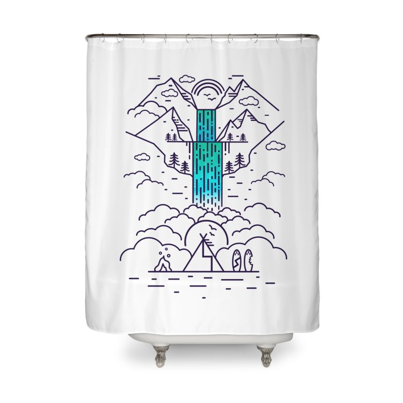 Nature's Daydream Home Shower Curtain by chevsy's Artist Shop