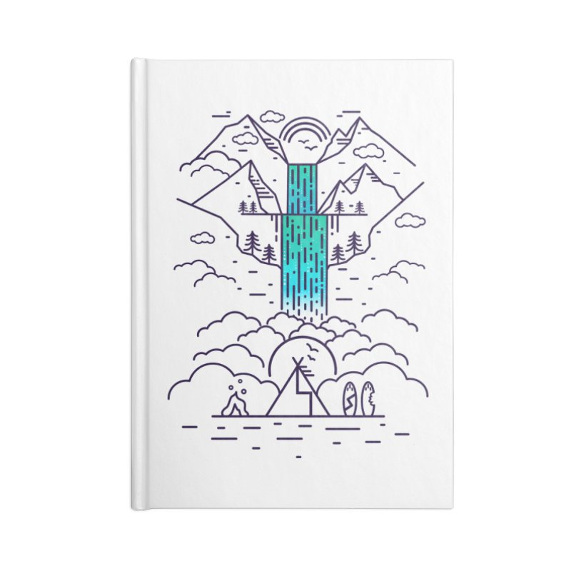 Nature's Daydream Accessories Blank Journal Notebook by chevsy's Artist Shop