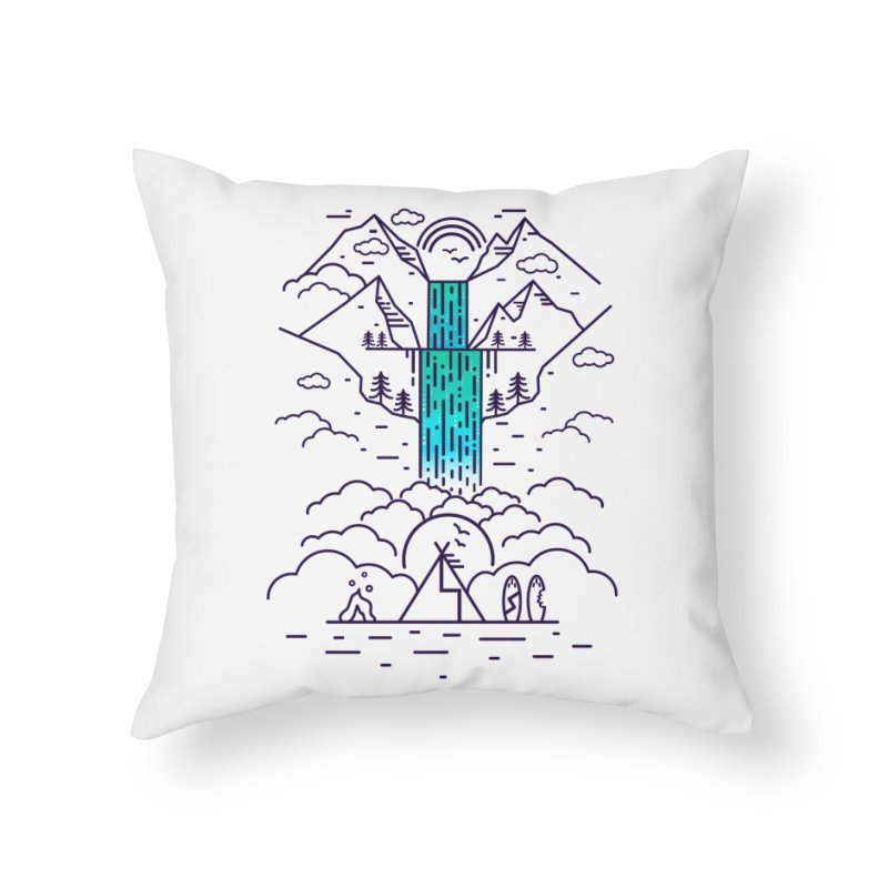 Nature's Daydream Home Throw Pillow by chevsy's Artist Shop