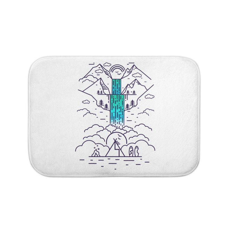 Nature's Daydream Home Bath Mat by chevsy's Artist Shop
