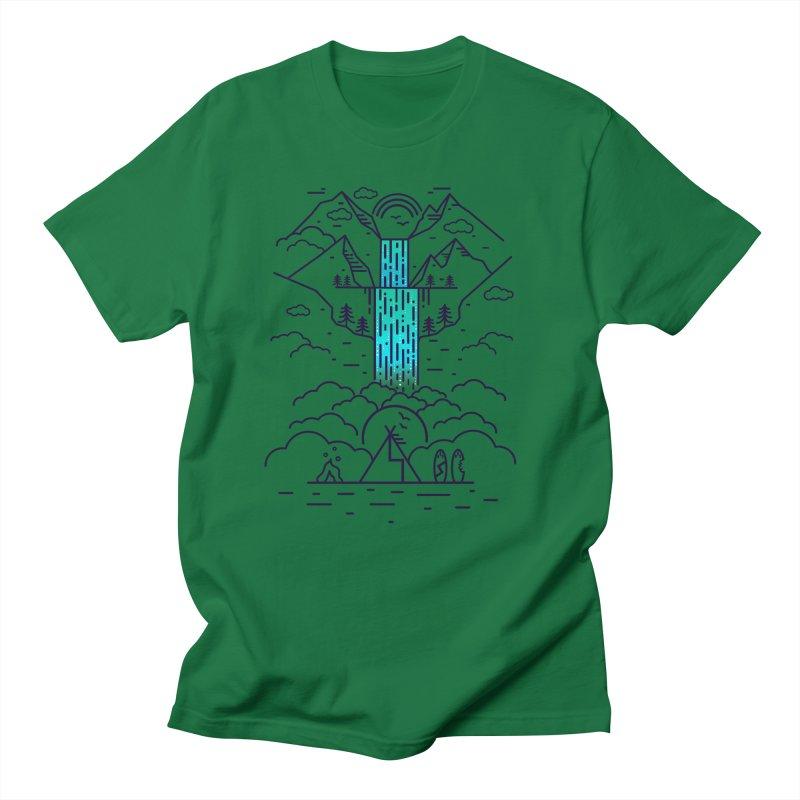 Nature's Daydream Men's Regular T-Shirt by chevsy's Artist Shop