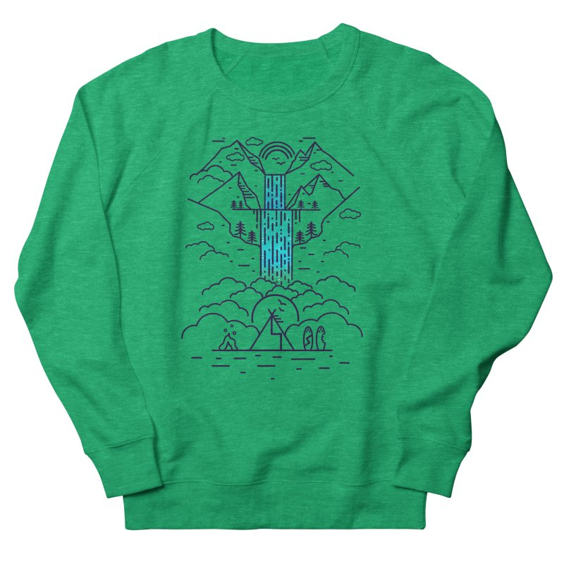Nature's Daydream Women's French Terry Sweatshirt by chevsy's Artist Shop
