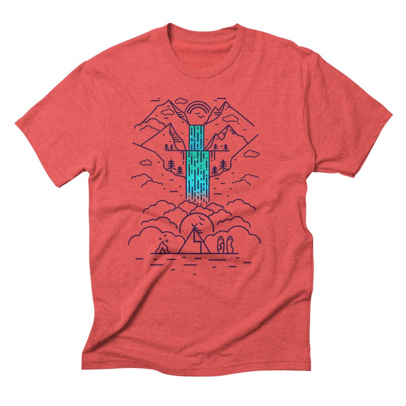 Nature's Daydream Men's Triblend T-Shirt by chevsy's Artist Shop