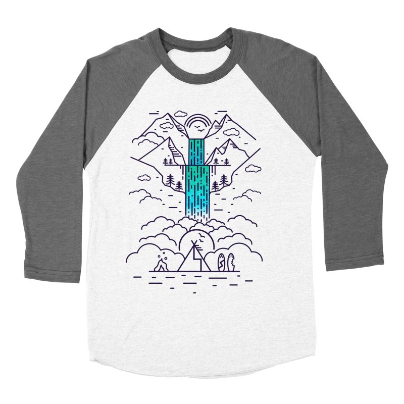 Nature's Daydream Women's Baseball Triblend Longsleeve T-Shirt by chevsy's Artist Shop