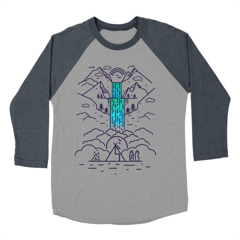 Nature's Daydream Women's Baseball Triblend T-Shirt by chevsy's Artist Shop