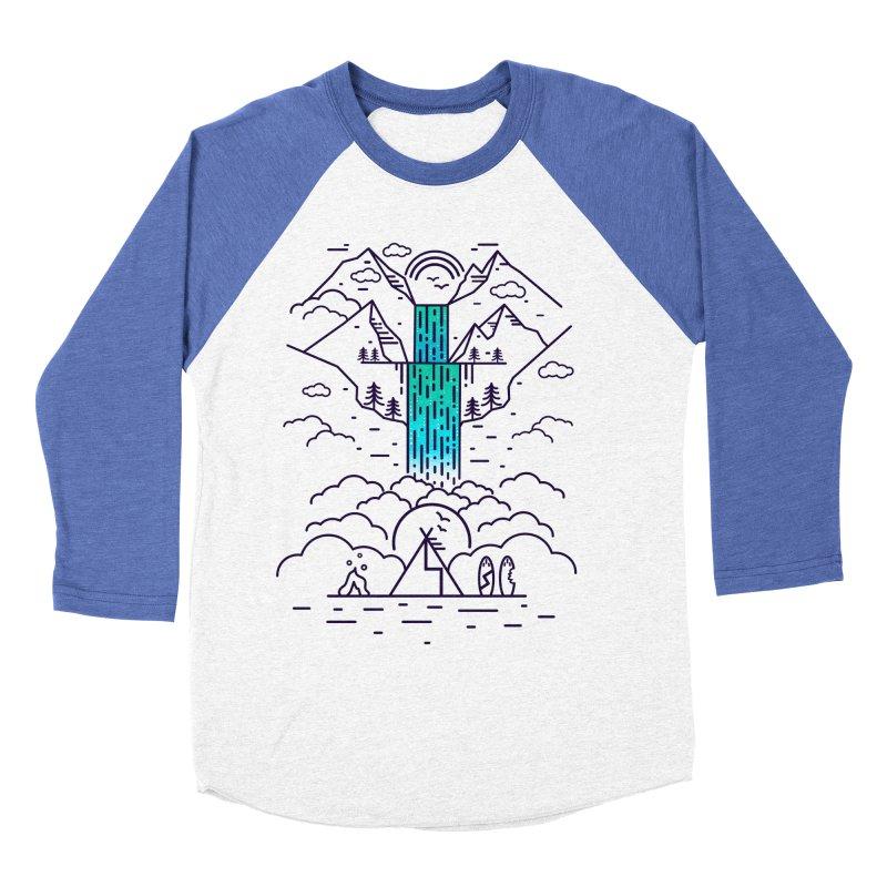 Nature's Daydream Men's Baseball Triblend Longsleeve T-Shirt by chevsy's Artist Shop