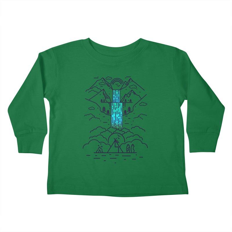 Nature's Daydream Kids Toddler Longsleeve T-Shirt by chevsy's Artist Shop