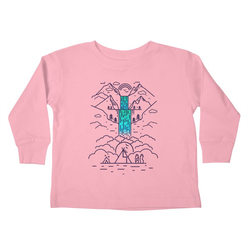 Nature's Daydream Kids Toddler Longsleeve T-Shirt by chevsy's Artist Shop