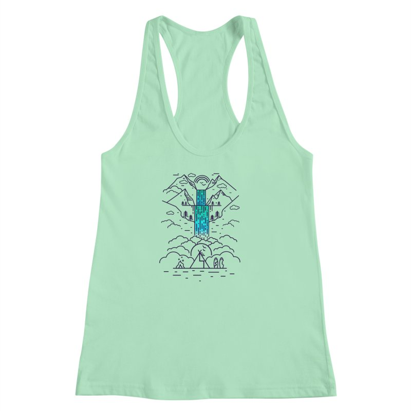 Nature's Daydream Women's Racerback Tank by chevsy's Artist Shop
