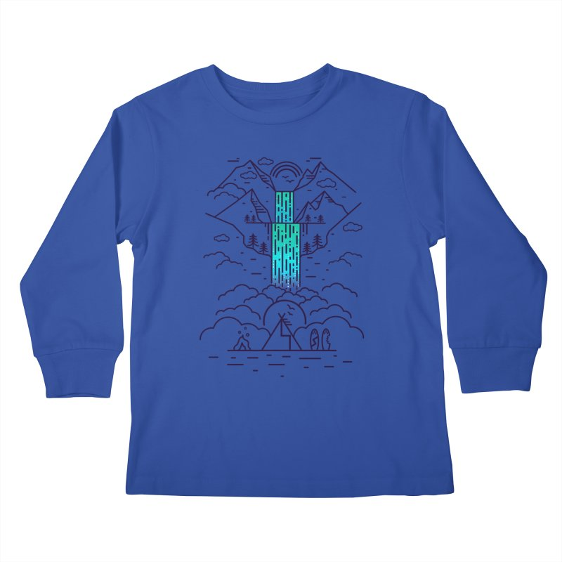 Nature's Daydream Kids Longsleeve T-Shirt by chevsy's Artist Shop