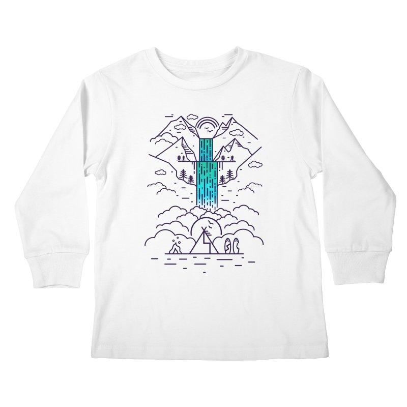 Nature's Daydream Kids Longsleeve T-Shirt by chevsy's Artist Shop