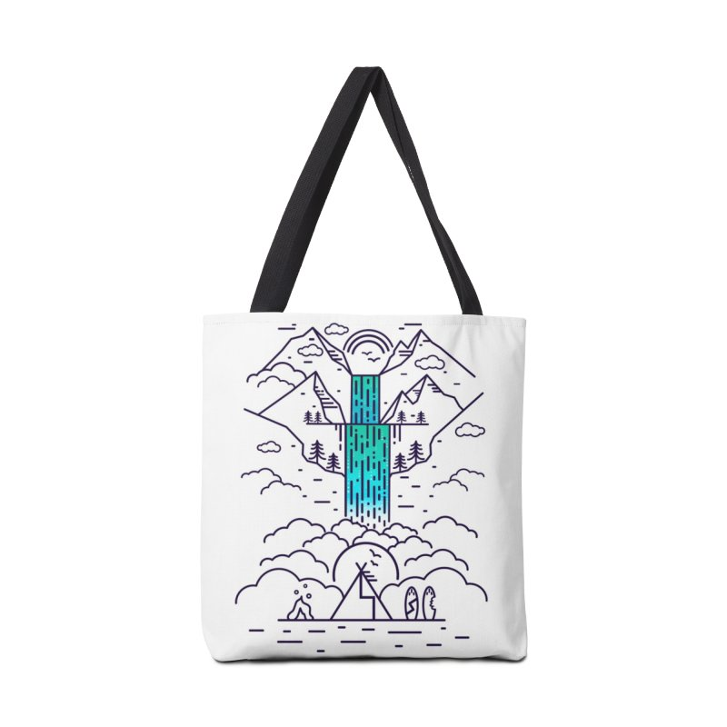 Nature's Daydream Accessories Tote Bag Bag by chevsy's Artist Shop