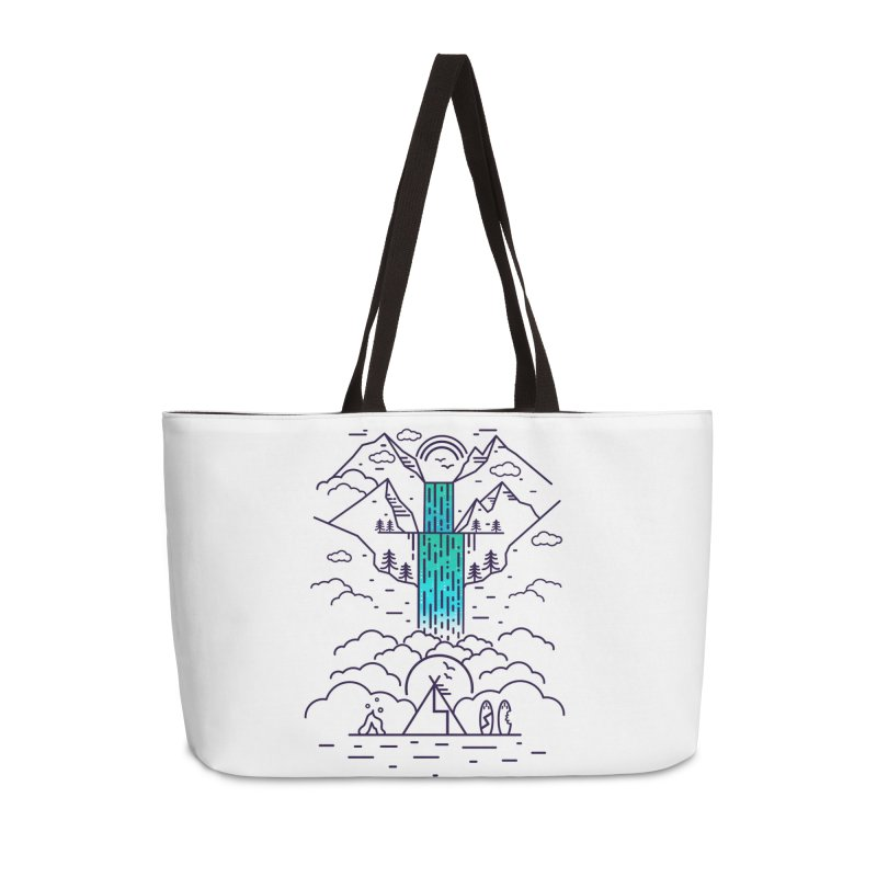 Nature's Daydream Accessories Weekender Bag Bag by chevsy's Artist Shop