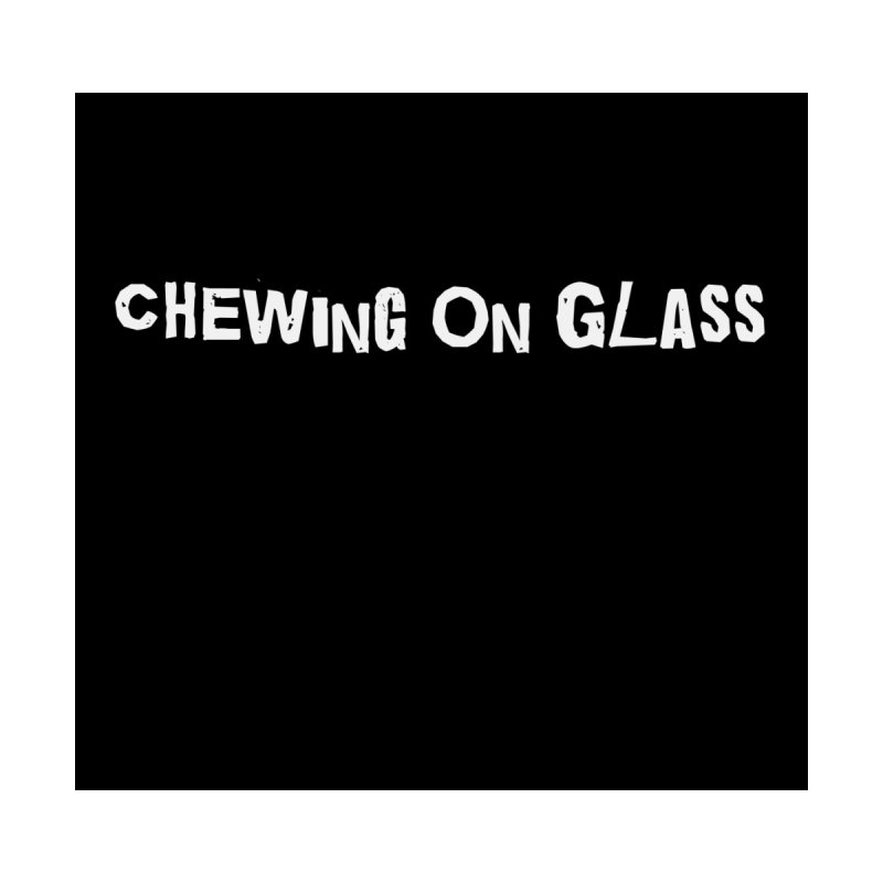Chewing On Glass Basic Logo Men's T-Shirt by chewingonglass's Artist Shop