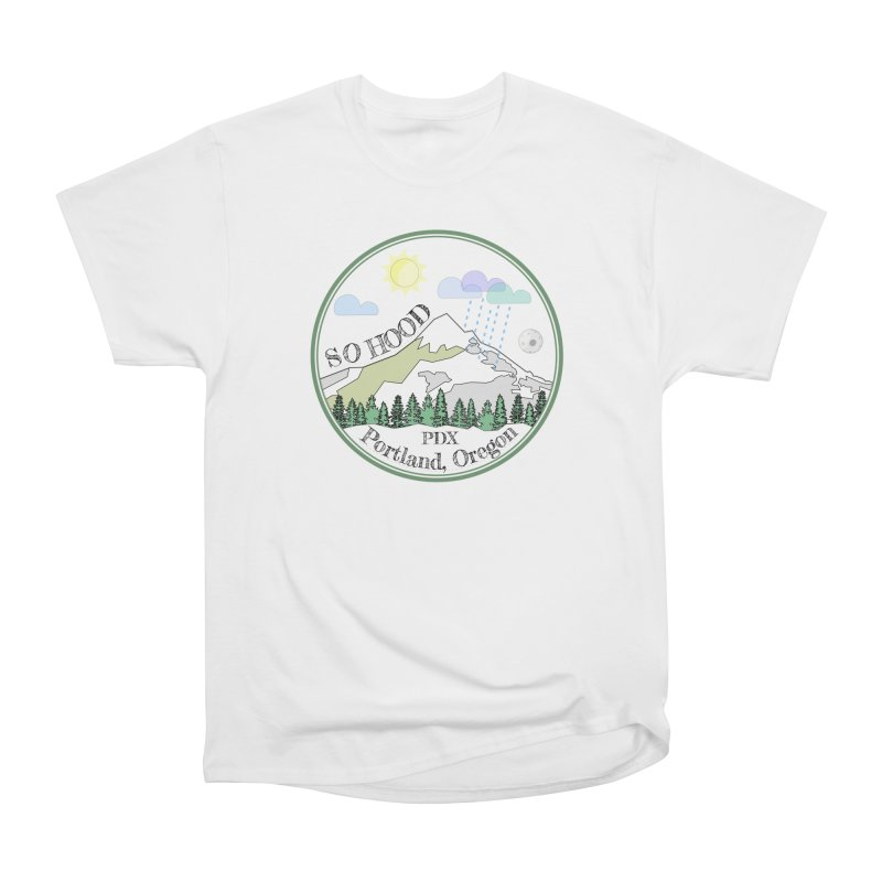 Mt. Hood [white background, works on all colors] Men's Classic T-Shirt by Northern Limit