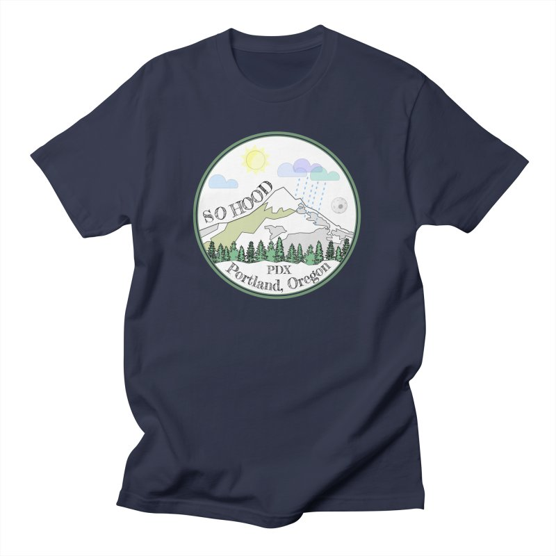 Mt. Hood [white background, works on all colors] Women's Unisex T-Shirt by Northern Limit