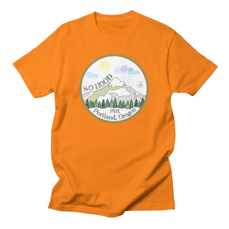 Mt. Hood [white background, works on all colors] Men's T-Shirt by Northern Limit