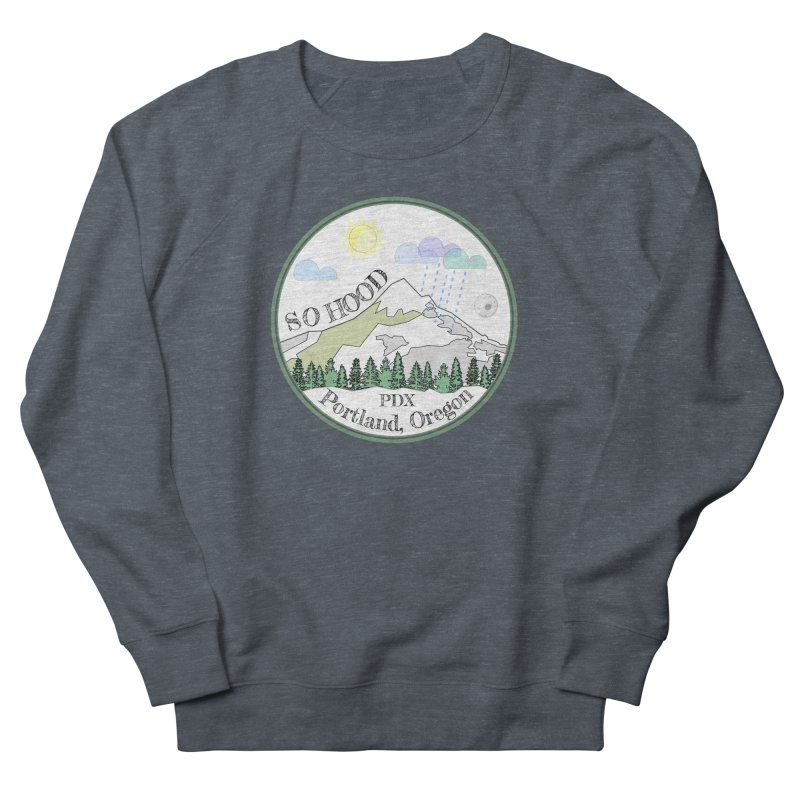 Mt. Hood [white background, works on all colors] Women's Sweatshirt by Northern Limit