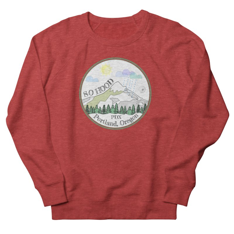 Mt. Hood [white background, works on all colors] Men's Sweatshirt by Northern Limit