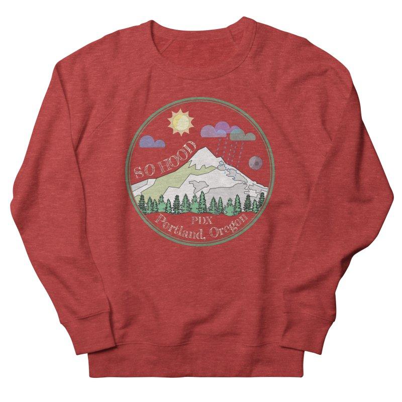 Mt. Hood [Day, transparent background, light text] Women's Sweatshirt by Northern Limit