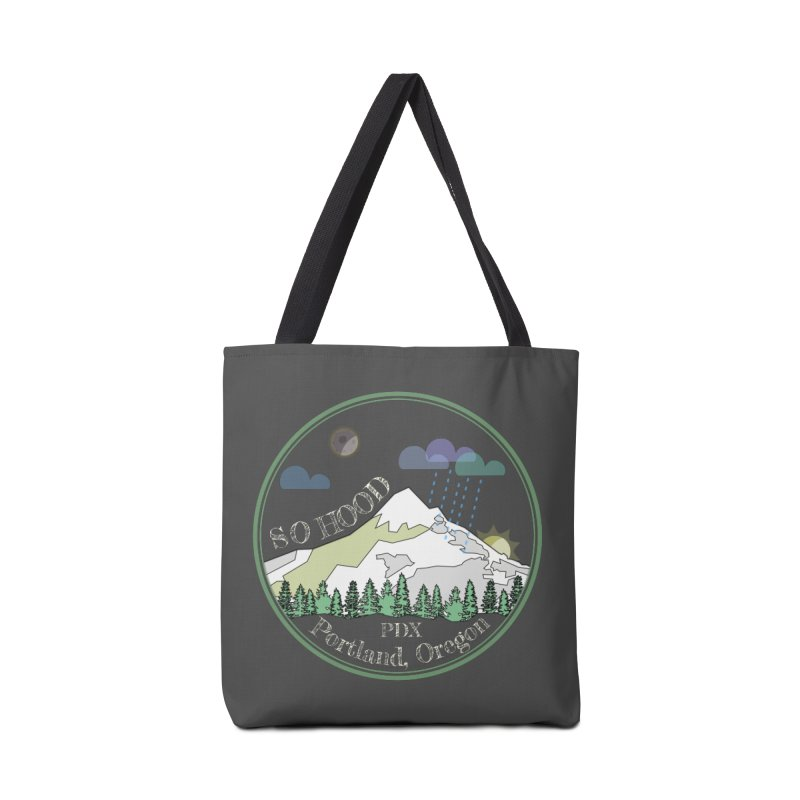 Mt. Hood [Night, transparent background, light text] Accessories Bag by Northern Limit
