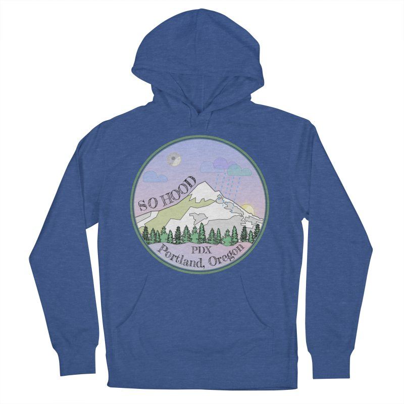 Mt. Hood [Night] Women's Pullover Hoody by Northern Limit