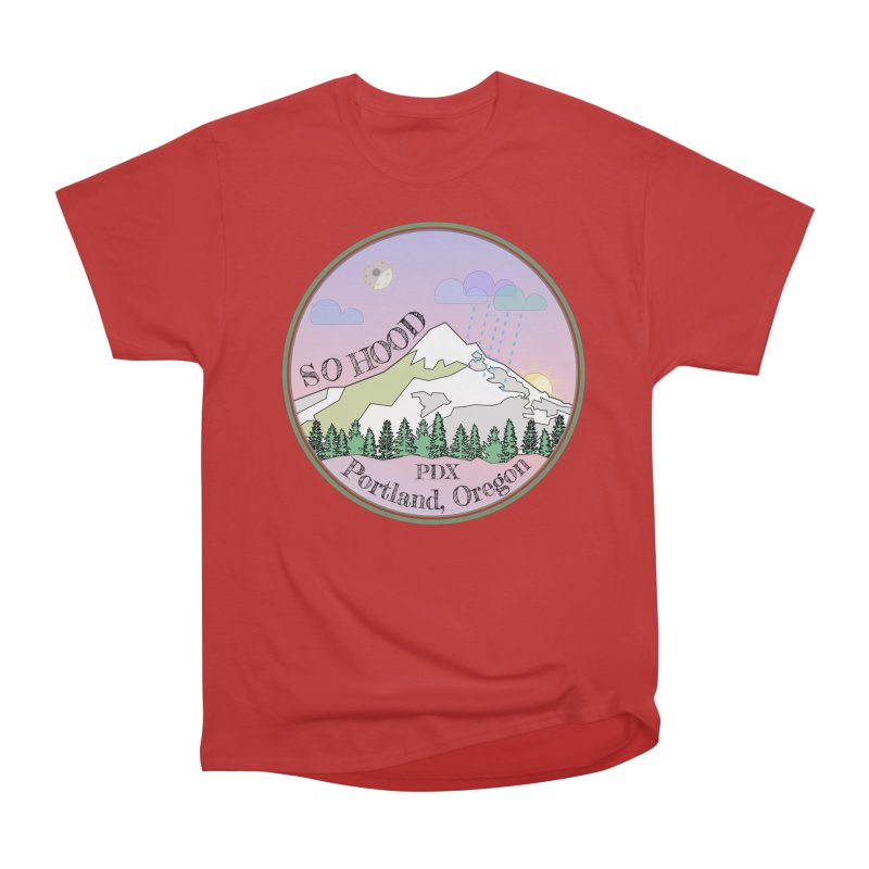 Mt. Hood [Night] Men's Classic T-Shirt by Northern Limit