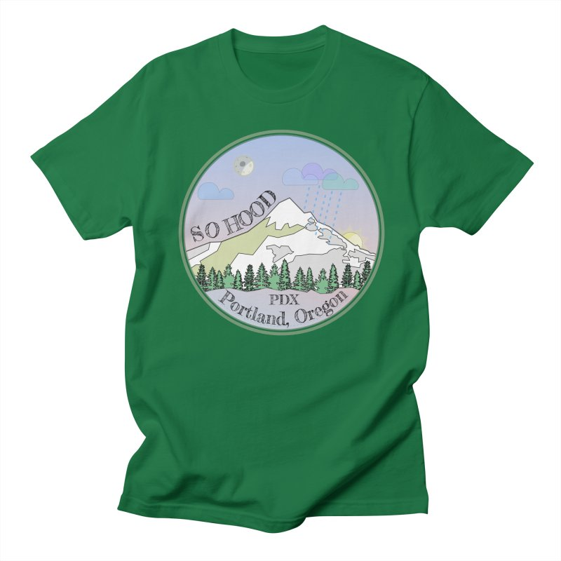 Mt. Hood [Night] Women's Regular Unisex T-Shirt by Northern Limit