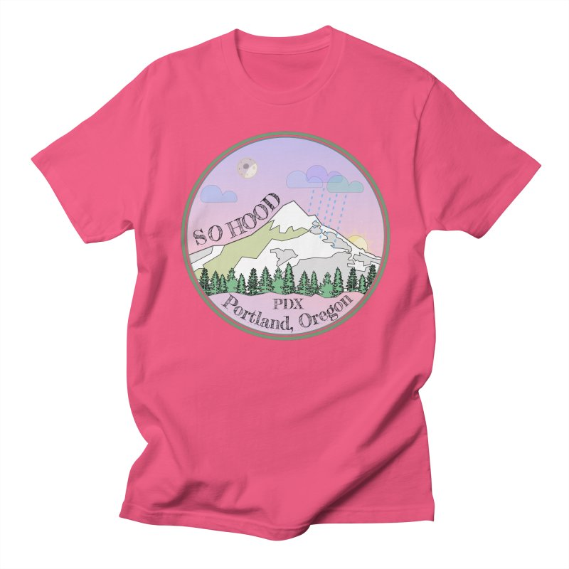 Mt. Hood [Night] Women's Unisex T-Shirt by Northern Limit