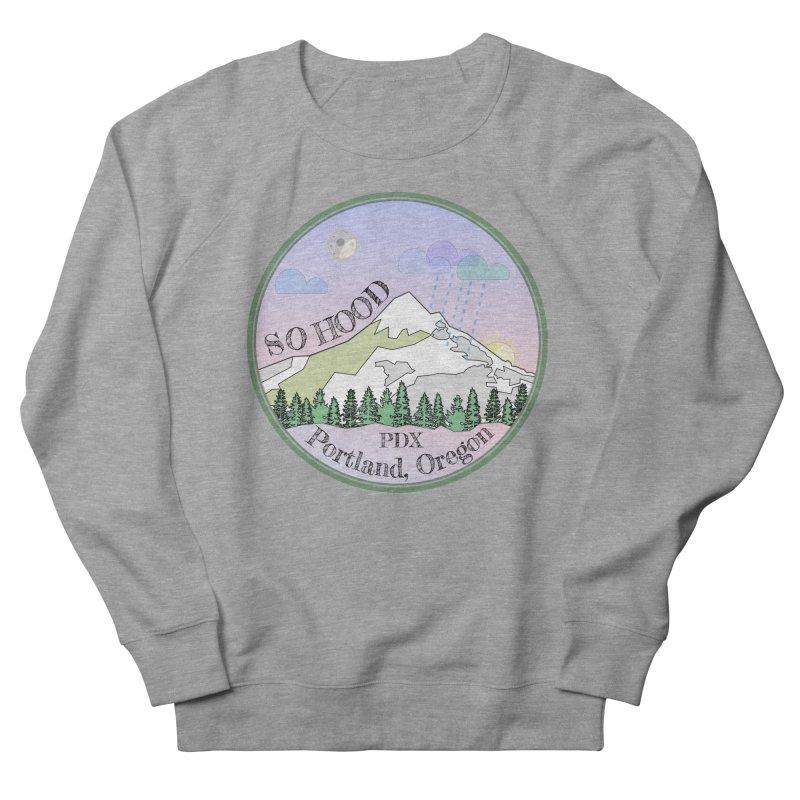 Mt. Hood [Night] Women's Sweatshirt by Northern Limit