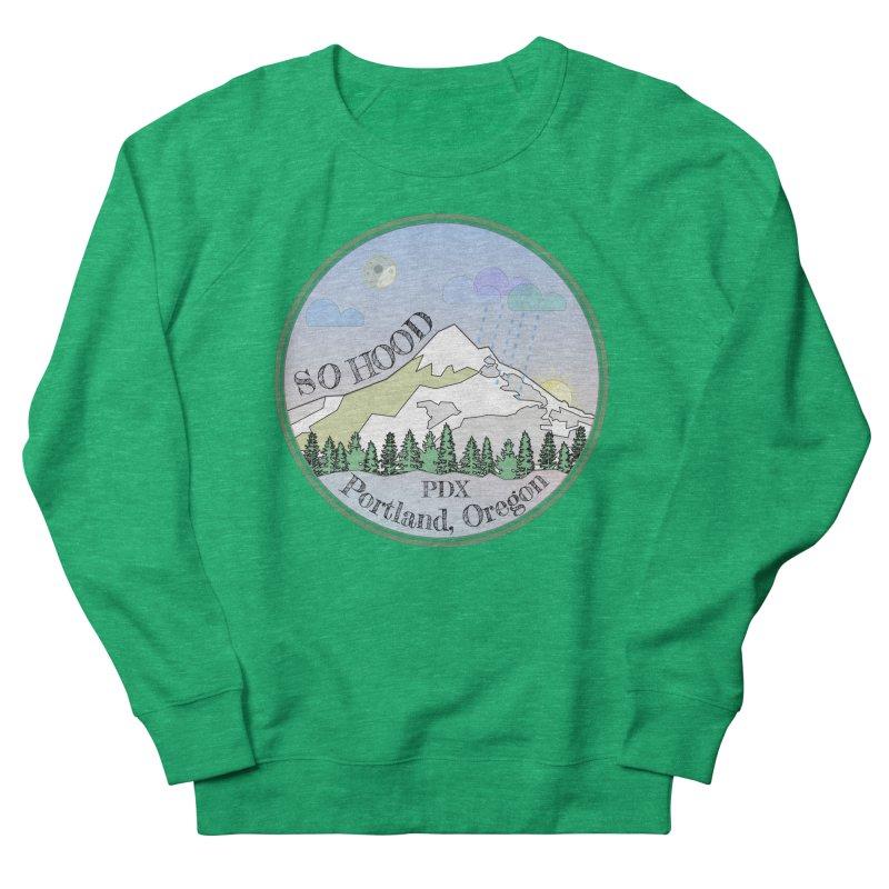 Mt. Hood [Night] Men's Sweatshirt by Northern Limit