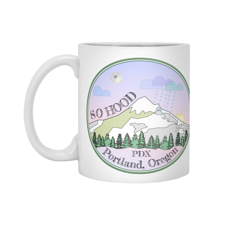 Mt. Hood [Night] Accessories Mug by Northern Limit