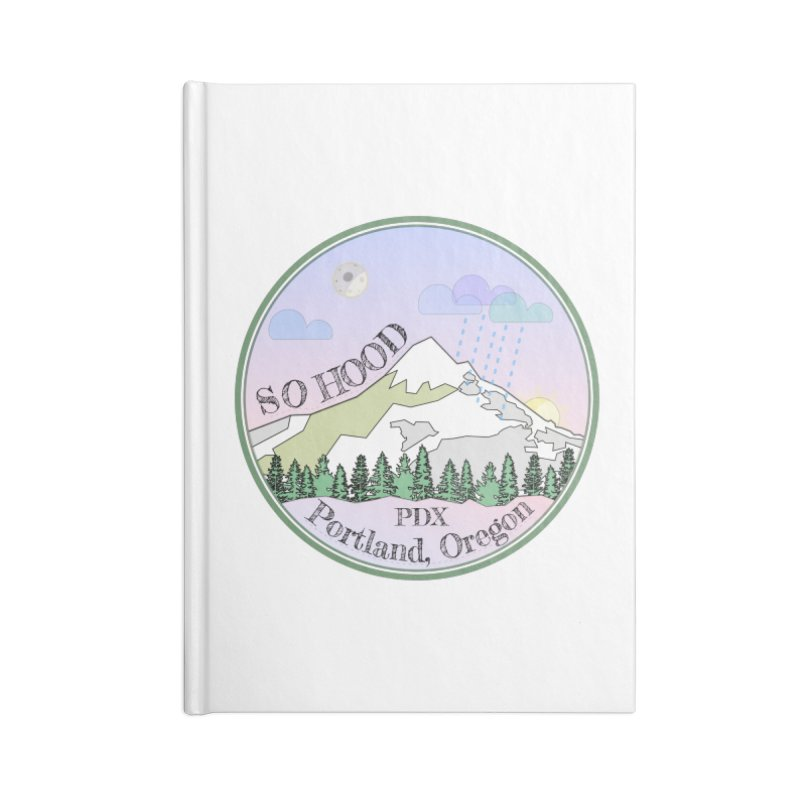 Mt. Hood [Night] Accessories Notebook by Northern Limit