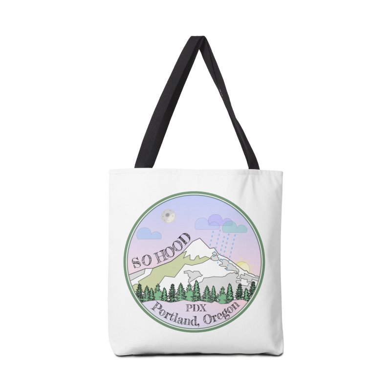 Mt. Hood [Night] Accessories Bag by Northern Limit
