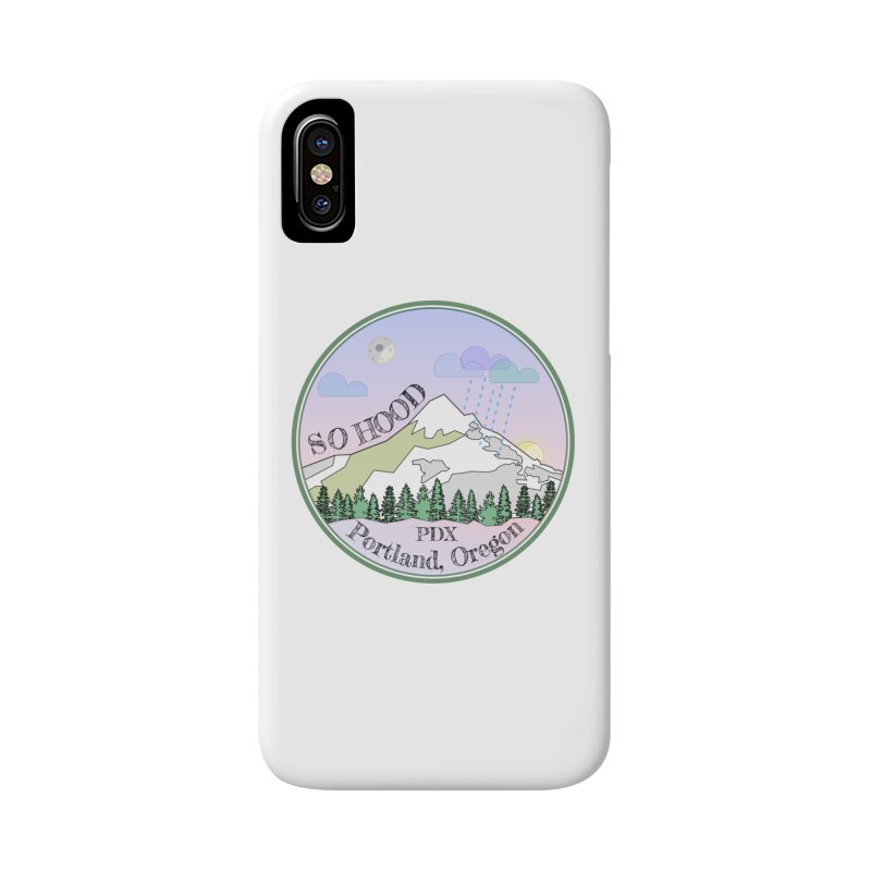 Mt. Hood [Night] Accessories Phone Case by Northern Limit
