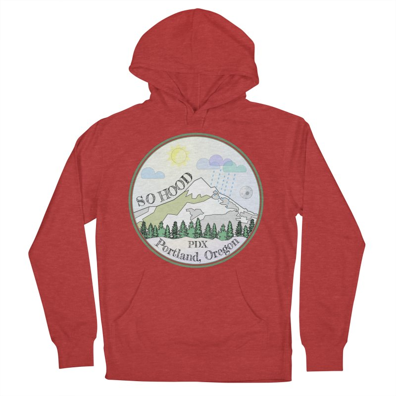 Mt. Hood [Day] Women's French Terry Pullover Hoody by Northern Limit