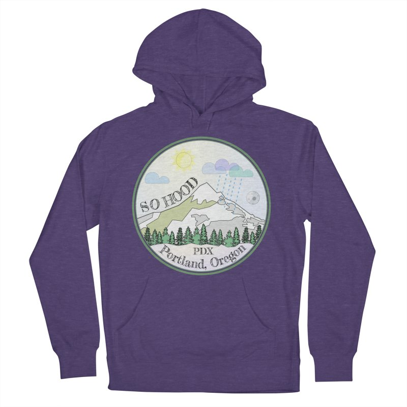 Mt. Hood [Day] Men's French Terry Pullover Hoody by Northern Limit